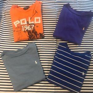 Ralph Lauren Polo Bundle T-Shirts Size 5(Toddler)